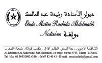 Maitre Abdelmalik Rachida notaire